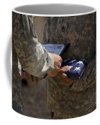 A Soldier Is Presented The American Coffee Mug