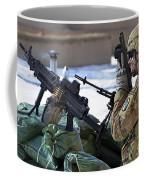 A Soldier Keeps A Close Watch Coffee Mug
