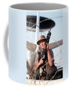 A Soldier Posts Security Coffee Mug