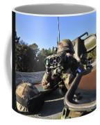 A Soldier Scans The Horizon Coffee Mug