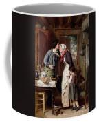A Son's Devotion Coffee Mug by Pierre Jean Edmond Castan