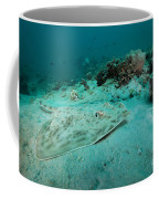 A Southern Stingray On The Sandy Bottom Coffee Mug by Michael Wood