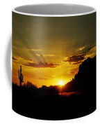 A Southwest Sunrise  Coffee Mug