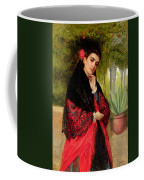 A Spanish Beauty Coffee Mug by John-Bagnold Burgess
