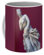 A Statue Of Aphrodite At The Acropolis Coffee Mug by Richard Nowitz