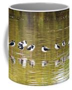A Stilt Gathering  Coffee Mug