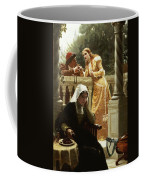 A Stolen Interview Coffee Mug by Edmund Blair Leighton