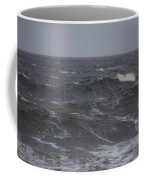 A Storm Lashed Hudsons Bay In Autumn Coffee Mug