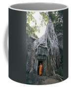A Strangler Figs Gnarled Roots Creep Coffee Mug by Paul Chesley