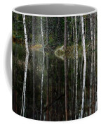 A Stream At High Water In A Woodland Coffee Mug