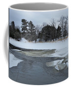 A Stream In Ice Coffee Mug