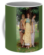 A Summer Shower Coffee Mug by Charles Edward Perugini