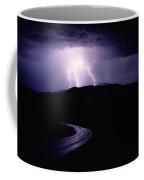 A Summer Storm In Yellowstone National Coffee Mug