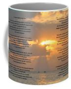 A Sunset A Poem - Victor Hugo Coffee Mug