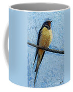 A Swallow On A Wire Coffee Mug
