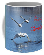 A Swan Christmas Coffee Mug