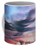 A Swift Moving Thunderstorm Moves Coffee Mug