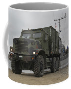 A Tactical Vehicle Is Off-loaded Coffee Mug