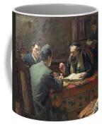 A Theological Debate Coffee Mug