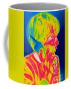 A Thermogram Of A Boy Talking Coffee Mug