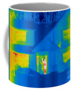 A Thermogram Of A Person Waving In House Coffee Mug