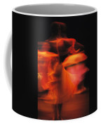 A Time-exposed View Of A Performance Coffee Mug by Michael Nichols