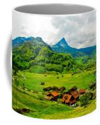 A Town On The Way Coffee Mug