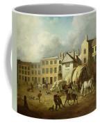A Town Scene  Coffee Mug by George Garrard
