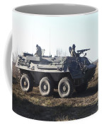 A Tpz Fuchs Armored Personnel Carrier Coffee Mug