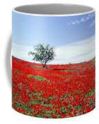 A Tree In A Red Sea Coffee Mug