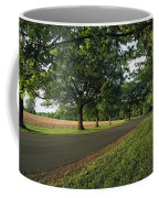 A Tree-lined Rural Virginia Road Coffee Mug