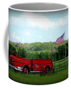 A Tribute To The Fireman Coffee Mug