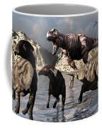 A Tyrannosaurus Rex Moves Coffee Mug by Mark Stevenson