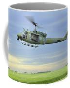 A Uh-1n Huey Helicopter Prepares Coffee Mug