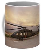 A Uh-60l Black Hawk Medevac Helicopter Coffee Mug
