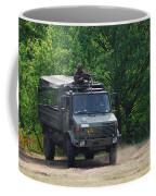 A Unimog Vehicle Of The Belgian Army Coffee Mug