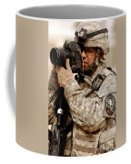 A U.s. Air Force Combat Cameraman Coffee Mug by Stocktrek Images
