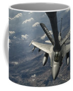 A U.s. Air Force F-16c Block 50 Coffee Mug by Giovanni Colla