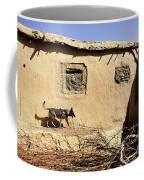 A U.s. Air Force K-9 Searches Coffee Mug