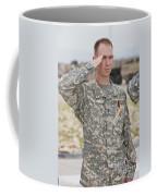 A U.s Army Soldier And Recipient Coffee Mug