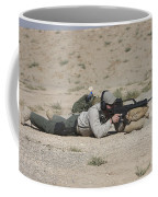 A U.s. Contractor Sights In A German Coffee Mug