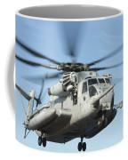 A U.s. Marine Corps Ch-53e Super Coffee Mug
