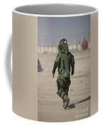 A U.s. Marine Tries Running In A Bomb Coffee Mug