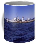 A U.s. Navy Deactivated Ship Sits Ready Coffee Mug