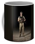 A U.s. Police Officer Contractor Coffee Mug