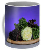 A Variety Of Lettuce Coffee Mug by Photo Researchers, Inc.