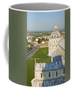 A View From The Bell Tower Of Pisa  Coffee Mug