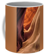 A View In A Slot Canyon Coffee Mug