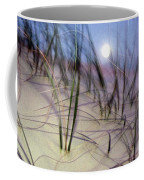 A View Of A Full Moon Rising Coffee Mug