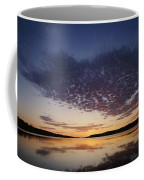 A View Of A Lake Right After The Sun Coffee Mug